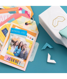 WE R MEMORY KEEPERS - Embossing photo corner punch