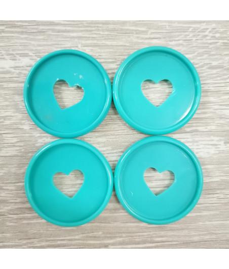 Dischi grandi 3,5 cm - Smeraldo