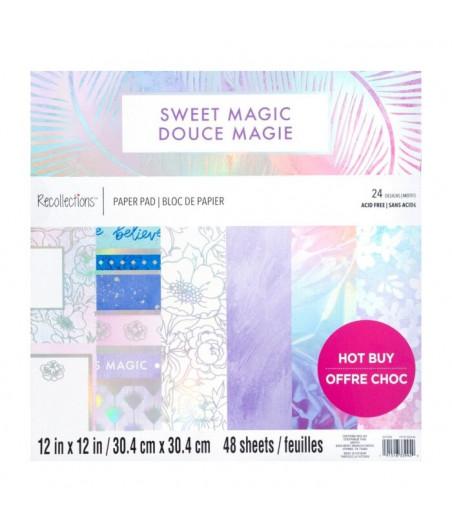 CRAFT SMITH - Sweet Magic  12x12 Inch Paper Pad