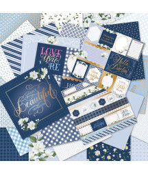 CRAFT SMITH - Southern Blues 12x12 Inch Paper Pad