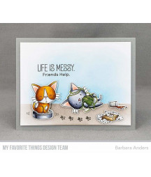 MY FAVORITE THINGS  - Clear Stamp - Cat-astrophe