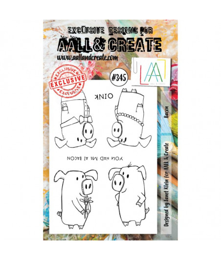 AALL & CREATE - 345 Stamp A6 Bacon