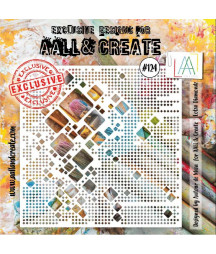 AALL & CREATE - Stencil 124...