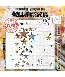 AALL & CREATE - Stencil 126...