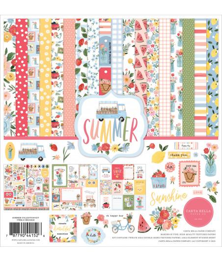 CARTA BELLA - Summer - 12x12  Pad Collection Kit
