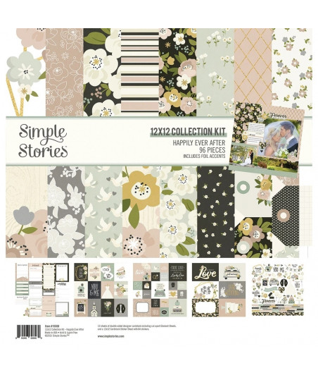 """SIMPLE STORIES - Happily Ever After - Collection Kit 12""""x12"""""""