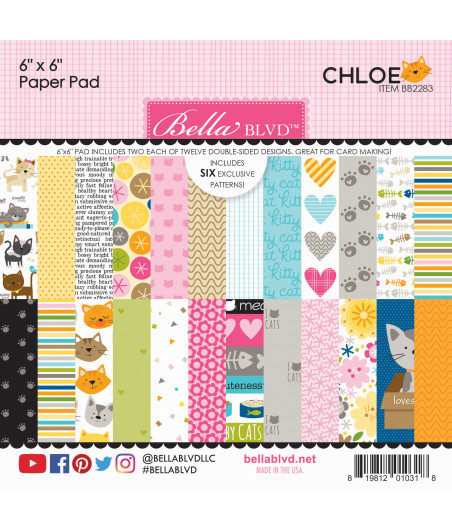 BELLA BLVD - Chloe 6x6 Inch Paper Pad