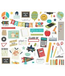 SIMPLE STORIES -  School Life - Bits & Pieces