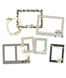 SIMPLE STORIES - Happily Ever After - Chipboard Frames