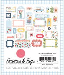 CARTA BELLA -  Summer - Frames & Tags