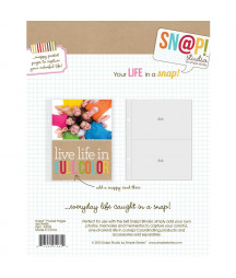 SIMPLE STORIES - Pocket Pages - Snap! - 4x6 refills