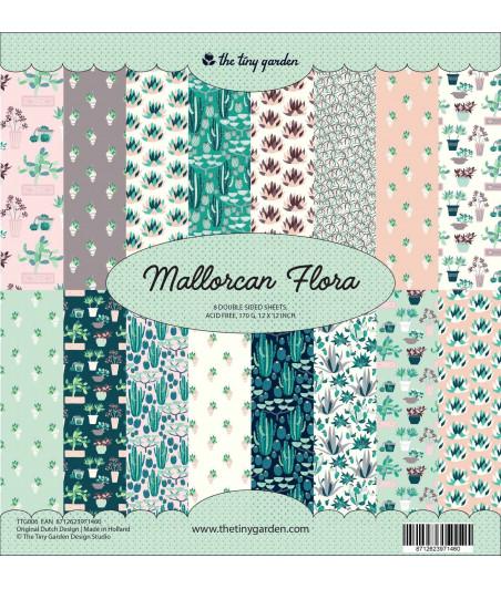 THE TINY GARDEN - Mallorcan Flora - 12x12  Pad Collection Kit