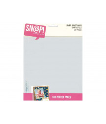 SIMPLE STORIES - Pocket Pages - Snap! - 6x8 refills