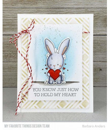 MY FAVORITE THINGS  - Clear Stamp - Wish You Were Hare