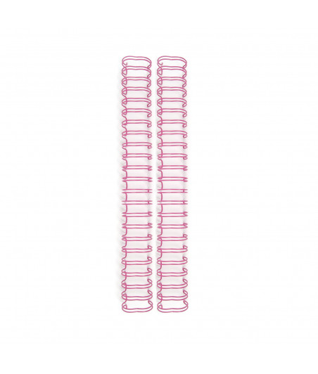 WE R MEMORY - Cinch Binding Wires 1,9 cm Rosey