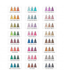 SPECTRUM NOIR - TriBlend Marker Deep Blends (24pcs)