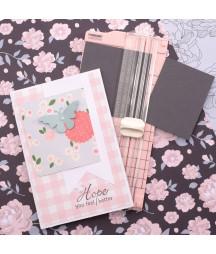 VAESSEN CREATIVE - Mini taglierina 6,5x15,3cm rosa