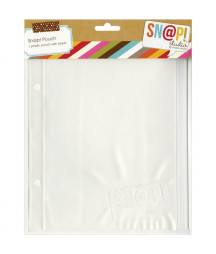 SIMPLE STORIES - Pocket Pages - Snap! - 1 plastic pouch with zipper