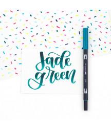 TOMBOW - ABT-379 Jade Green Dual Brush Pen