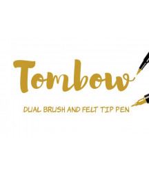 TOMBOW - ABT-026 Yellow Gold Dual Brush Pen