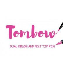 TOMBOW - ABT-725 Rhodamine Red Dual Brush Pen