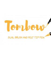TOMBOW - ABT-993 Chrome Orange Dual Brush Pen