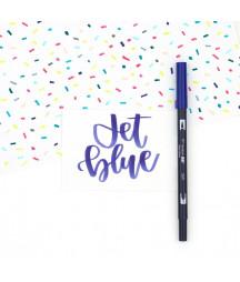 TOMBOW - ABT-569 Jet Blue Dual Brush Pen