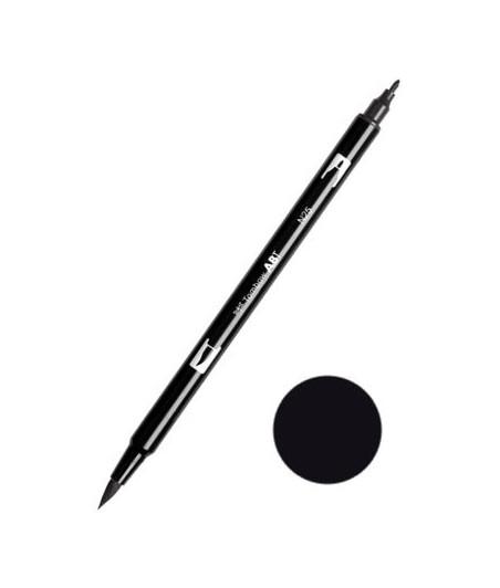TOMBOW - ABT N25 Lamp Black Dual Brush Pen