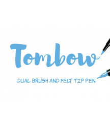 TOMBOW - ABT-533 Peacock Blue Dual Brush Pen