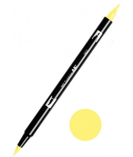 TOMBOW - ABT-062 Pale Yellow Dual Brush Pen