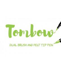 TOMBOW - ABT-173 Willow Green Dual Brush Pen
