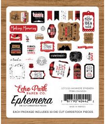 ECHO PARK - Let's Go Anywhere Ephemera