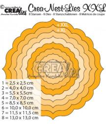CREALIES - Ornament Round CLNest04XXL