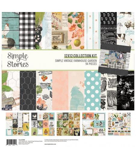 "SIMPLE STORIES - Simple Vintage Farmhouse Garden - Collection Kit 12""x12"""