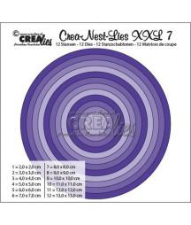 CREALIES - Round Basic CLNest07XXL
