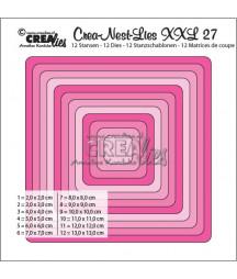 CREALIES -  Square Die CLNest27XXL
