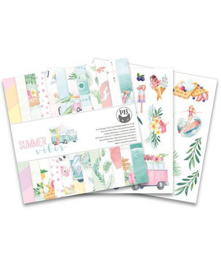 PIATEK - Piatek13 - Paper pad Summer vibes, 6x6''