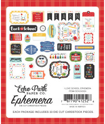 ECHO PARK -  I Love School Ephemera