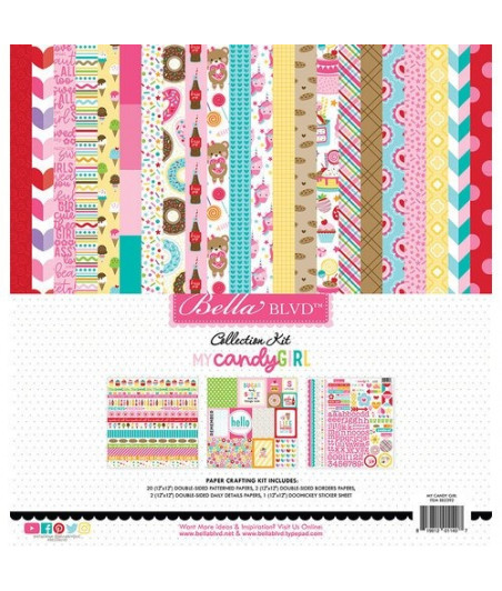BELLA BLVD - My Candy Girl 12x12 Inch Collection Kit