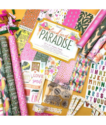 DOVECRAFT - Paradise 12x12 Inch Paper Pack