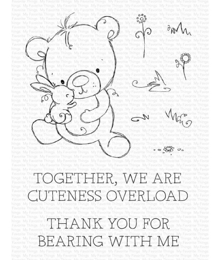 MY FAVORITE THINGS  - Clear Stamp - Cuteness Overload