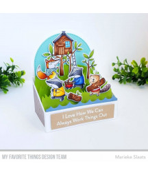 MY FAVORITE THINGS  - Clear Stamp - Let's Work Together