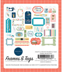 CARTA BELLA - Craft & Create Frames & Tags
