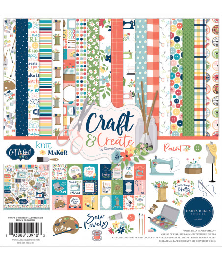 CARTA BELLA - Craft & Create Pad Collection Kit