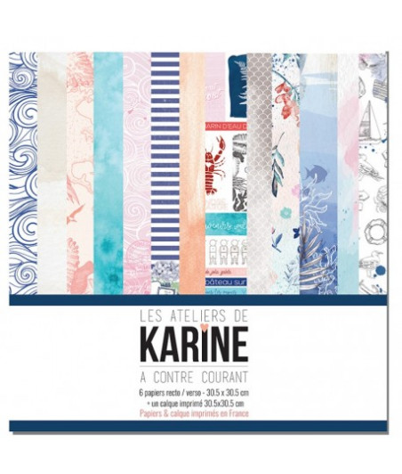 KARINE - A Contre Courant set 12x12