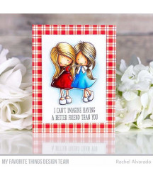 MY FAVORITE THINGS  - Clear Stamp - Definition of Friendship