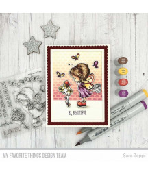 MY FAVORITE THINGS  - Clear Stamp - Flutterby Friends