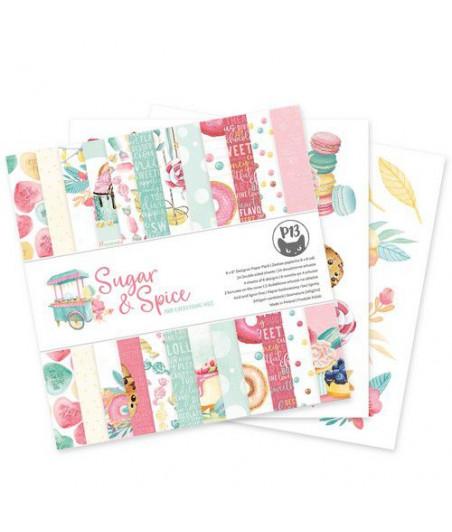 PIATEK - Piatek13 - Paper pad Sugar and Spice, 6x6''