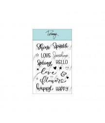 Tommy Clear Stamps Spring...