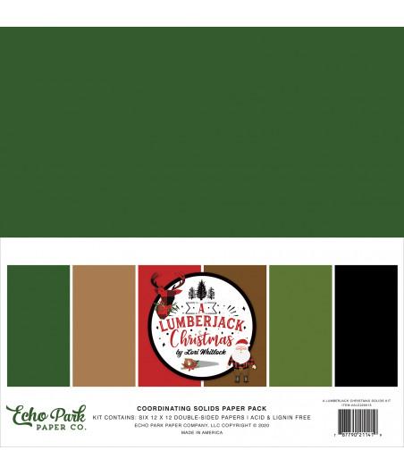 ECHO PARK - A Lumberjack Christmas - 12X12 Inch Coordinating